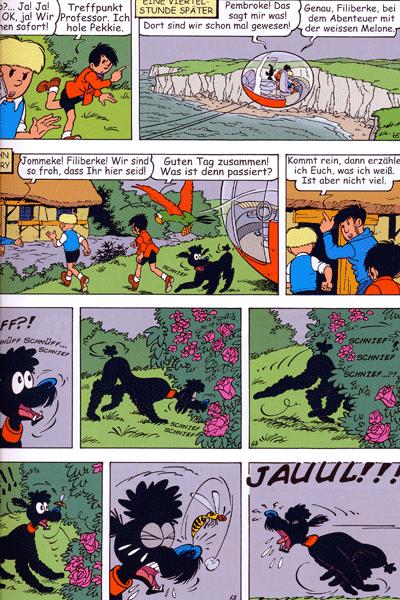 Leseprobe 1 von JOMMEKE [comic], Band 16 - Das Kästchen von Sir Pimpeldon