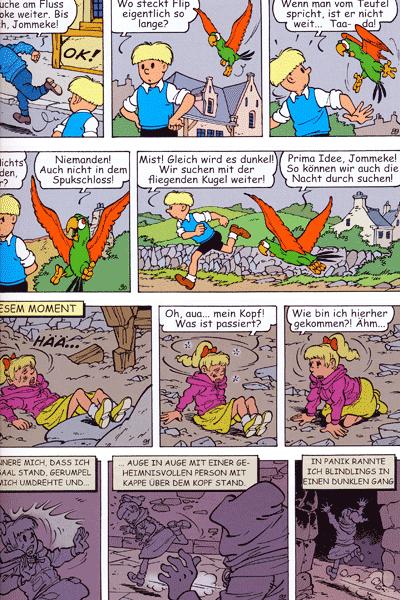 Leseprobe 2 von JOMMEKE [comic], Band 16 - Das Kästchen von Sir Pimpeldon