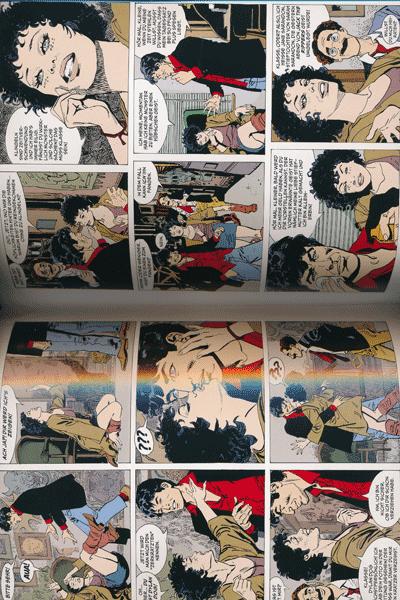 Leseprobe 2 von Dylan Dog Gesamtausgabe, Band 1 - Morgendämmerung der Untoten, Jack the Ripper, Vollmondnächte