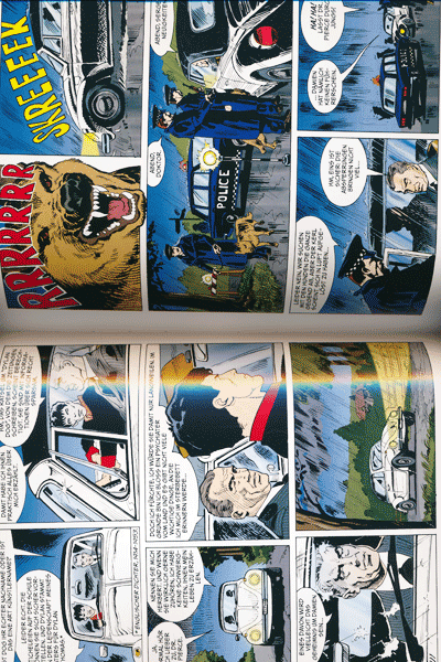 Leseprobe 2 von Dylan Dog Gesamtausgabe, Band 3 - Stille Dämmerung, Die Rückkehr des Monsters, Alpha und Omega