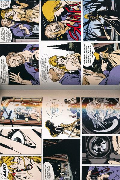 Leseprobe 1 von Dylan Dog Gesamtausgabe, Band 4 - Der Weg durch den Spiegel, Diabolo der Grosse, Killer!