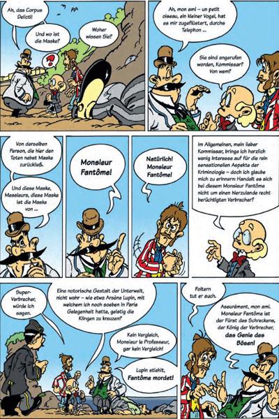 Leseprobe 2 von DIE DENKMASCHINE Integral, Band 1 - Die spannendsten Fälle des Professor van Dusen