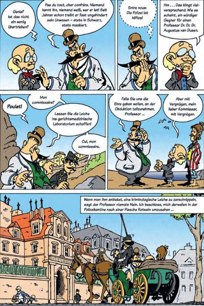 Leseprobe 3 von DIE DENKMASCHINE Integral, Band 1 - Die spannendsten Fälle des Professor van Dusen