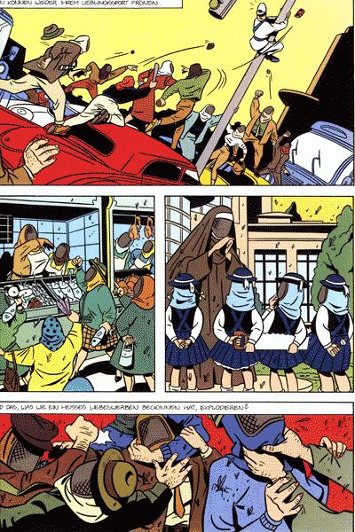 Leseprobe 1 von Opium - Der Prinz des Bösen, Band 1 - Inferno in der Mega-Stadt | Das gefrorene Lächeln