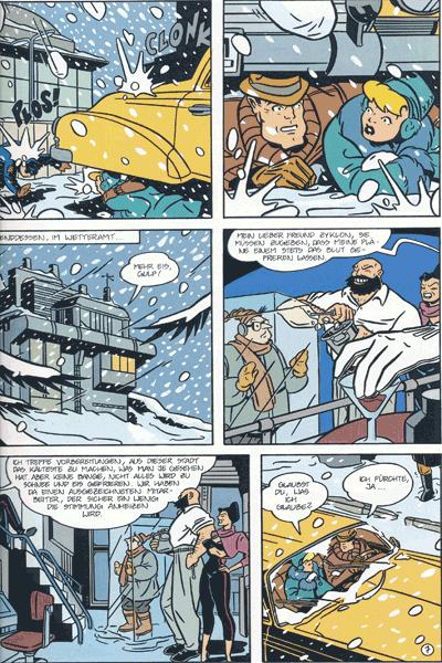 Leseprobe 4 von Opium - Der Prinz des Bösen, Band 1 - Inferno in der Mega-Stadt | Das gefrorene Lächeln