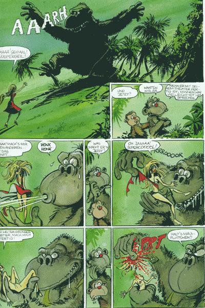 Leseprobe von Affentango, Band 1 - Die Angepaßten