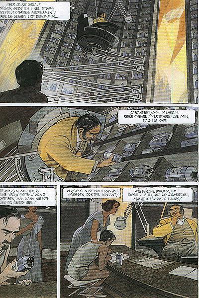 Leseprobe 1 von Die geheimnisvollen Städte: Der Schattenmann, Einzelband -