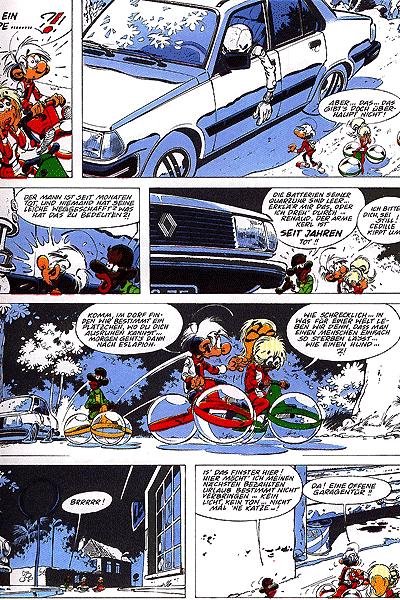 Leseprobe von Die Abenteuer der Minimenschen, Band 17 - Das weisse Loch