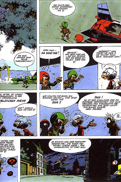 Leseprobe von Die Abenteuer der Minimenschen, Band 18 - Strahlen aus dem All