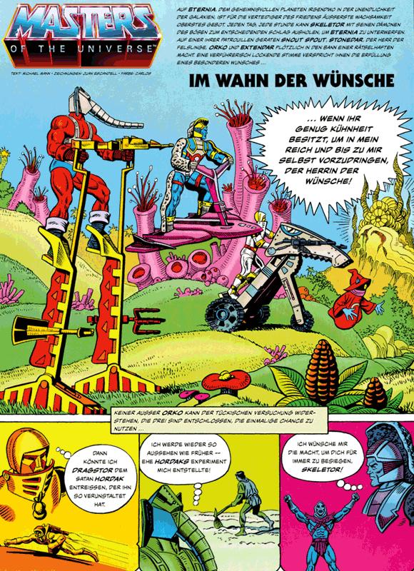Leseprobe 4 von MASTERS of the UNIVERSE [gesamtausgabe ehapa 80er], Band 1 - Das Buch des Bösen [He-Man, Skeletor, Evil-Lyn, Orko, Hordak]