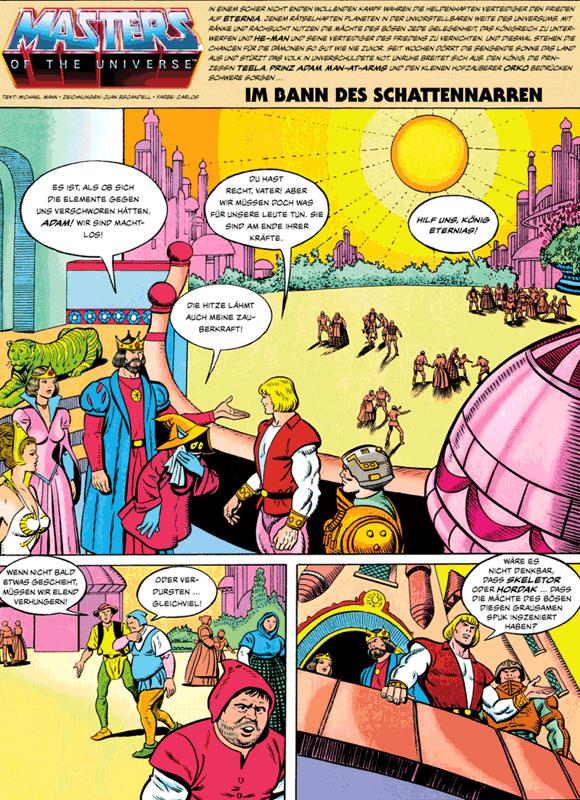 Leseprobe 5 von MASTERS of the UNIVERSE [gesamtausgabe ehapa 80er], Band 1 - Das Buch des Bösen [He-Man, Skeletor, Evil-Lyn, Orko, Hordak]
