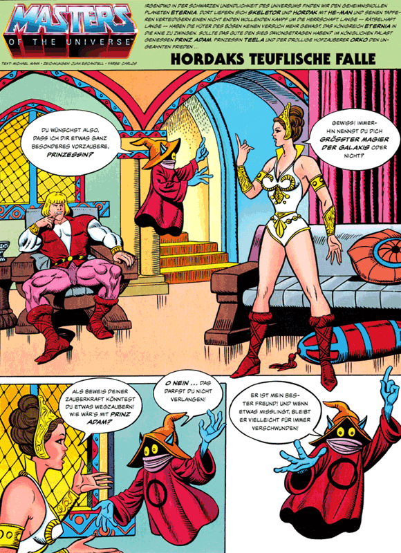 Leseprobe 6 von MASTERS of the UNIVERSE [gesamtausgabe ehapa 80er], Band 1 - Das Buch des Bösen [He-Man, Skeletor, Evil-Lyn, Orko, Hordak]