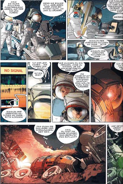 Leseprobe 2 von BLUE SPACE, Band 1 - Der Tycho-Vorfall