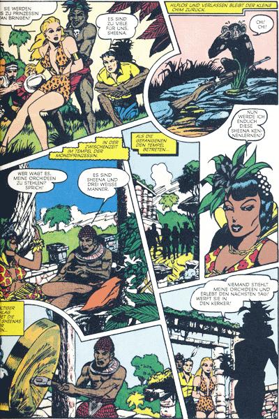 Leseprobe 1 von SHEENA, Band 2 - K�nigin des Dschungels