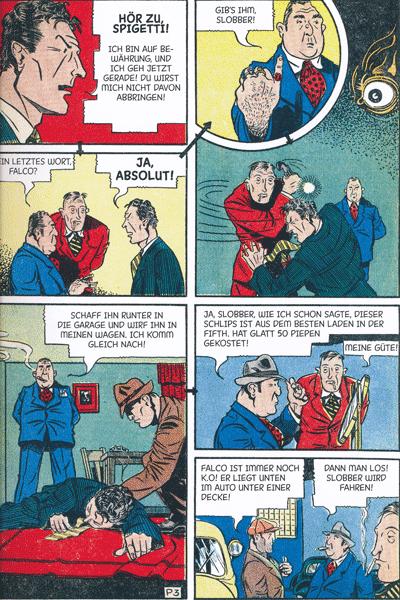 Erste Leseprobe von Perlen der Comicgeschichte, Band 1 - centaur mystery comics