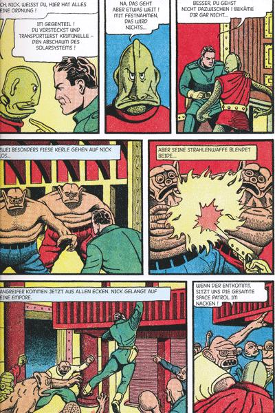 Zweite Leseprobe von Perlen der Comicgeschichte, Band 1 - centaur mystery comics