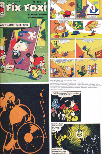 Leseprobe 1 von Perlen der Comicgeschichte, Band 8 - Fix und Foxy