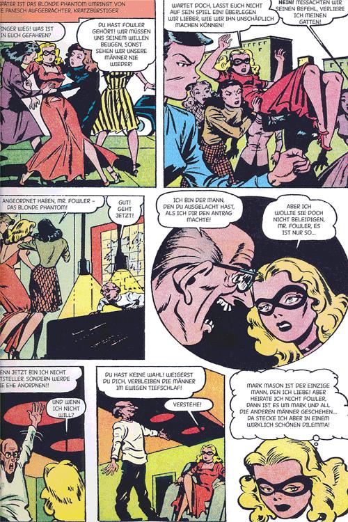 Leseprobe 1 von Perlen der Comicgeschichte, Band 9 - Blonde Phantom