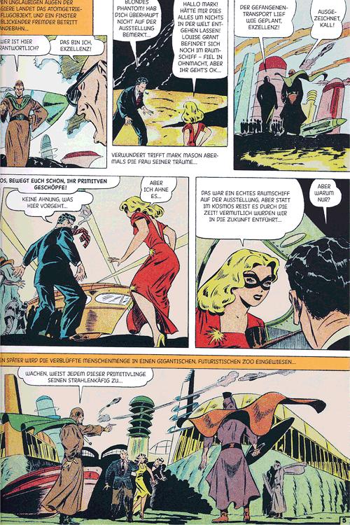 Leseprobe 2 von Perlen der Comicgeschichte, Band 9 - Blonde Phantom