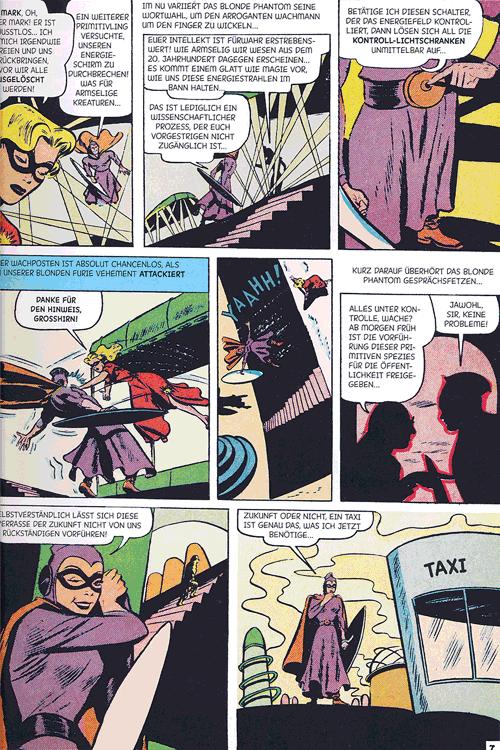 Leseprobe 3 von Perlen der Comicgeschichte, Band 9 - Blonde Phantom