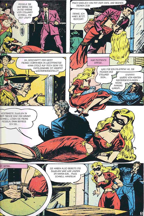 Leseprobe 4 von Perlen der Comicgeschichte, Band 9 - Blonde Phantom