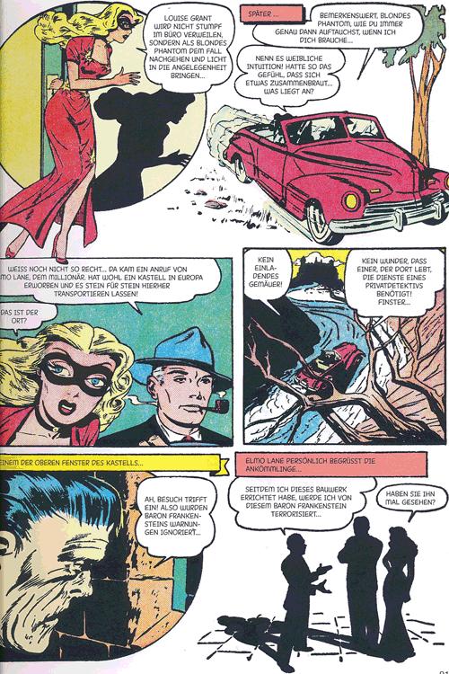 Leseprobe 5 von Perlen der Comicgeschichte, Band 9 - Blonde Phantom