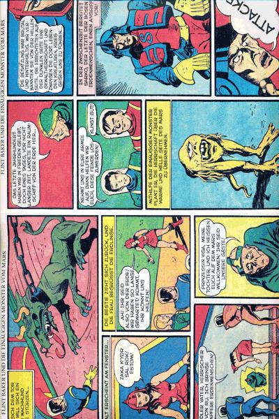 Leseprobe 1 von PLANET COMICS, Band 1 - Phantastische Abenteuer auf fremden Planeten