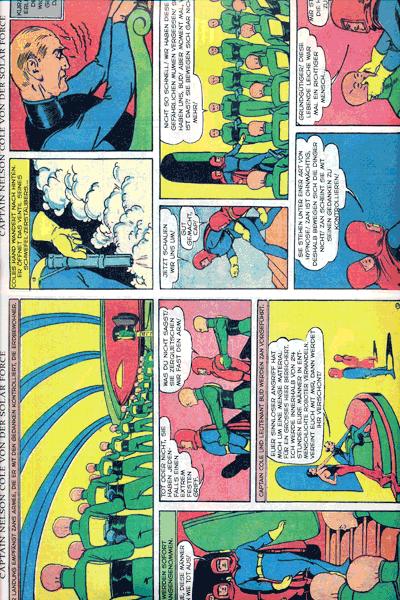 Leseprobe 2 von PLANET COMICS, Band 1 - Phantastische Abenteuer auf fremden Planeten