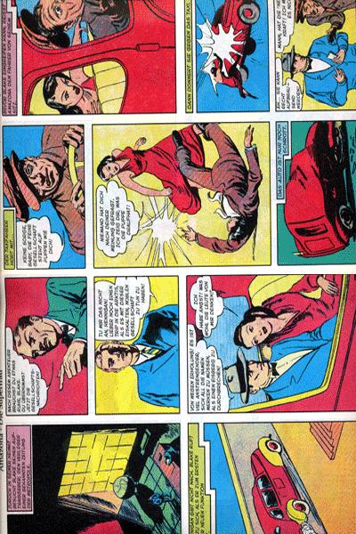 Leseprobe 1 von PLANET COMICS, Band 3 - Phantastische Abenteuer auf fremden Planeten