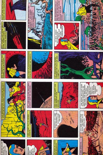 Leseprobe 1 von PLANET COMICS, Band 4 - Phantastische Abenteuer auf fremden Planeten