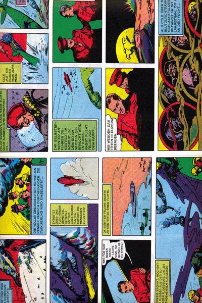 Leseprobe 2 von PLANET COMICS, Band 4 - Phantastische Abenteuer auf fremden Planeten