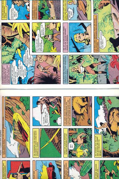 Leseprobe 1 von PLANET COMICS, Band 5 - Phantastische Abenteuer auf fremden Planeten