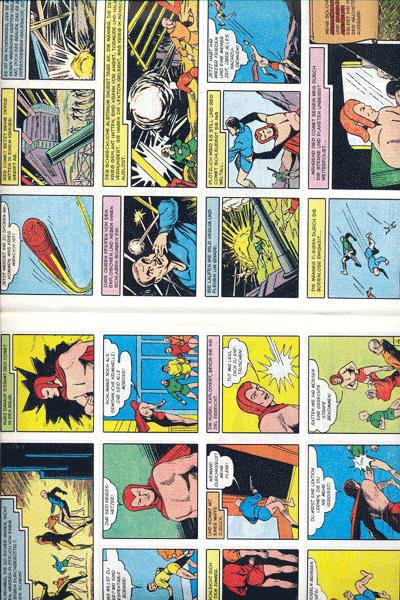 Leseprobe 2 von PLANET COMICS, Band 5 - Phantastische Abenteuer auf fremden Planeten