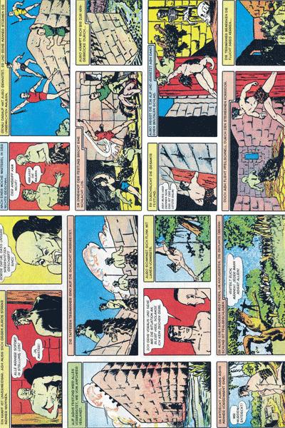 Leseprobe 1 von PLANET COMICS, Band 7 - Phantastische Abenteuer auf fremden Planeten