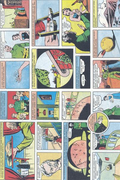 Leseprobe 2 von PLANET COMICS, Band 7 - Phantastische Abenteuer auf fremden Planeten