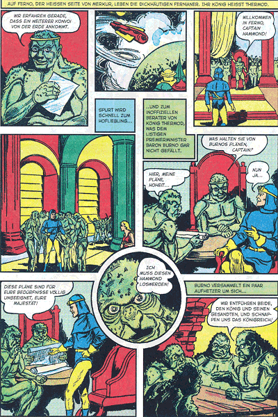 Leseprobe 1 von PLANET COMICS, Band 9 - Phantastische Abenteuer auf fremden Planeten