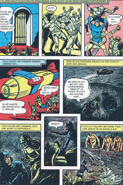 Leseprobe 2 von PLANET COMICS, Band 9 - Phantastische Abenteuer auf fremden Planeten