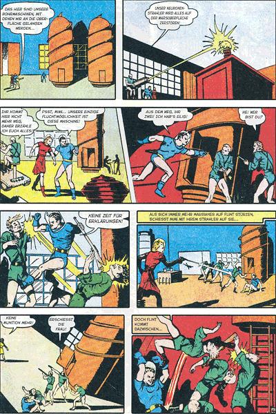 Leseprobe 3 von PLANET COMICS, Band 9 - Phantastische Abenteuer auf fremden Planeten