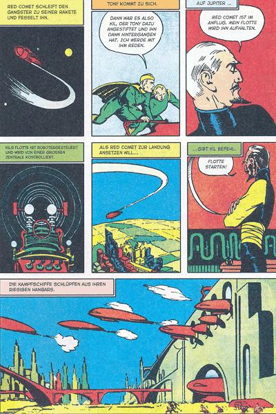 Leseprobe 1 von PLANET COMICS, Band 10 - Phantastische Abenteuer auf fremden Planeten