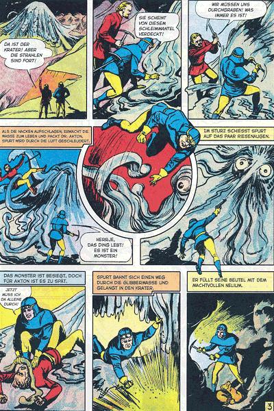 Leseprobe 2 von PLANET COMICS, Band 10 - Phantastische Abenteuer auf fremden Planeten