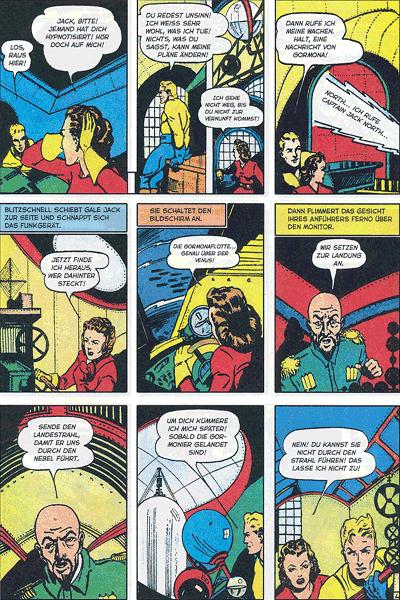 Leseprobe 3 von PLANET COMICS, Band 10 - Phantastische Abenteuer auf fremden Planeten