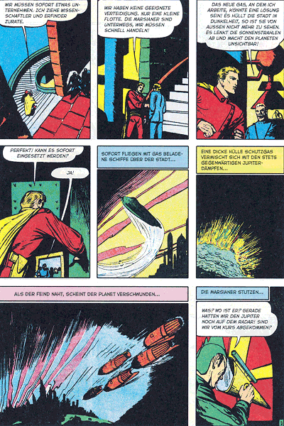 Leseprobe 5 von PLANET COMICS, Band 10 - Phantastische Abenteuer auf fremden Planeten