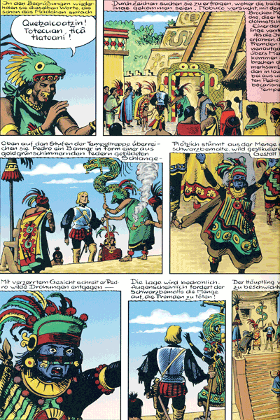 Leseprobe 1 von DON PEDRO, Band 2 - Ein Held des tollkühnsten Abenteuers aller Zeiten