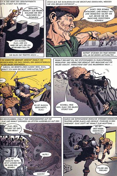 Leseprobe 1 von Olac der Gladiator, Einzelband -