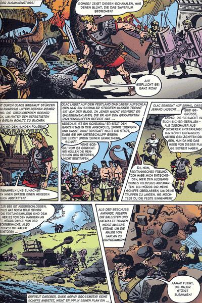 Leseprobe 2 von Olac der Gladiator, Einzelband -