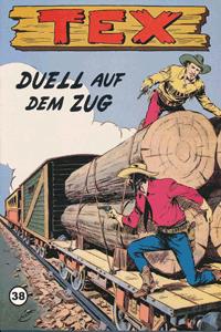 Leseprobe von TEX WILLER, Band 38 - Duell auf dem Zug