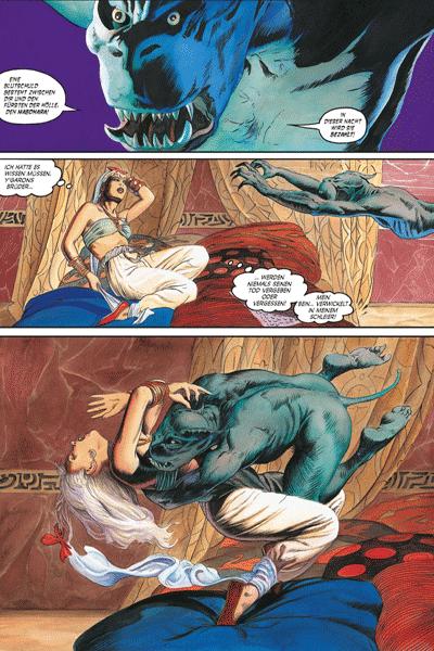 Leseprobe 2 von MARADA - Die Wölfin, Einzelband - Das zerschmetterte Schwert