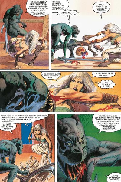 Leseprobe 3 von MARADA - Die Wölfin, Einzelband - Das zerschmetterte Schwert