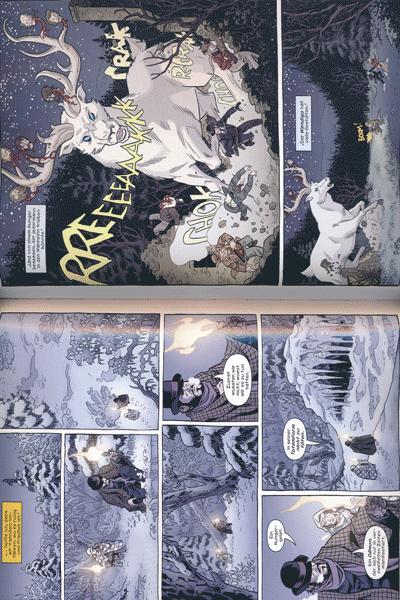 Leseprobe 2 von Die sechste Waffe, Band 5 - Winterwölfe