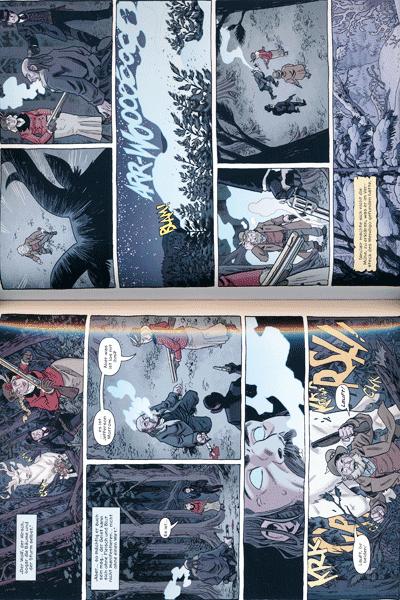 Leseprobe 3 von Die sechste Waffe, Band 5 - Winterw�lfe